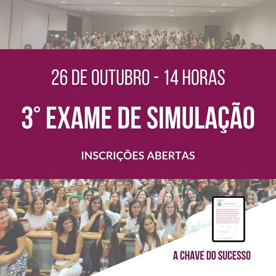 3º Exame de Simulação PE - PNA 2019
